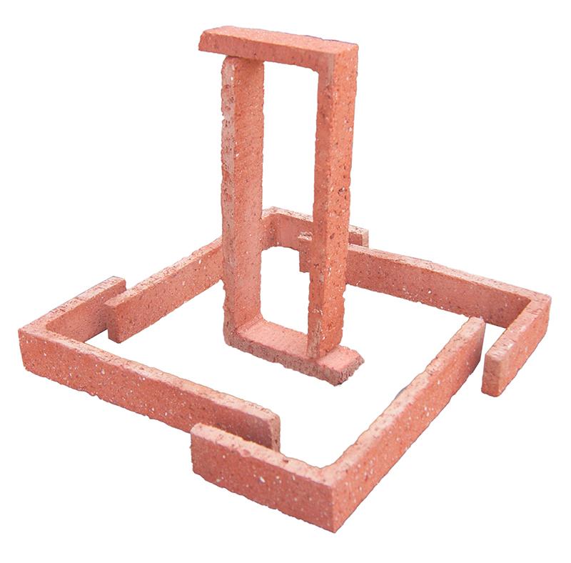 Esquina Manual Roja Arenosa 24x11,25x4x1cm