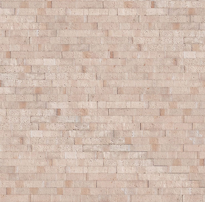 Plaqueta Semimanual Blanca Rústica 22x3x1,5cm Refrentada 1