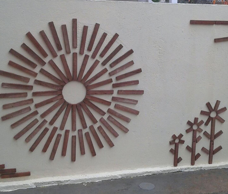 Dibujos con plaquetas cerámicas