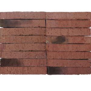 Plaqueta Semimanual Roja Inglés Raspada 24x4x1,5cm